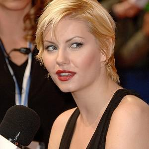 Elisha Cuthbert appears in the video for Here Comes My Man