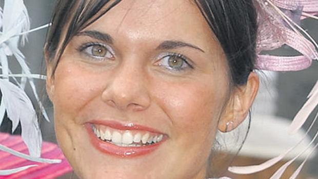 Michaela pictured during the Rose of Tralee festival in Co Kerry in 2004