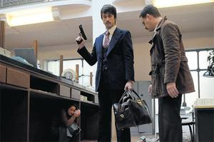 BAD DAY AT THE OFFICE: Kim Rossi Stuart as the gangster Vallanzasca in 'Angels of Evil'