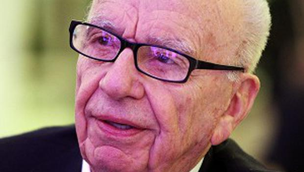 Rupert Murdoch has been posting on the social networking site Twitter