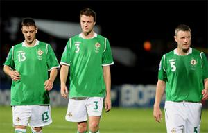 Northern Ireland's poor run puts them joint 100th with Antigua-Barbuda. Photo: PA
