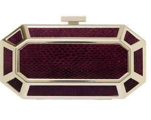 Metal frame clutch from Reiss €140