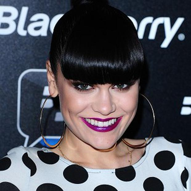 Jessie J said she was brought up to be comfortable with herself