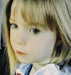 A photo taken of Madeline McCann shortly before she disappeared on a family holiday in Portugal in July 2008. Photo: Getty Images