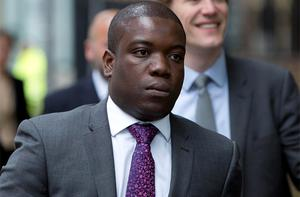 Former UBS trader Kweku Adoboli arrives at Southwark Crown Court in London. Photo: Reuters