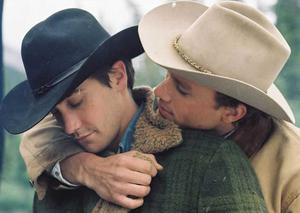 Top job: Gay roles have brought screen success for many actors, including Heath Ledger and Jake Gyllenhaal in Brokeback Mountain...