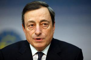 ECB president Mario Draghi. Photo: Getty Images
