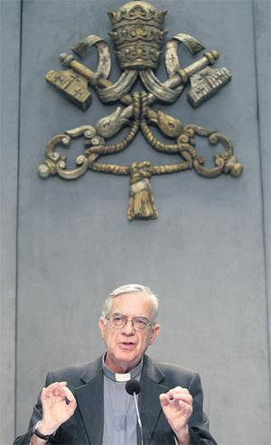 Vatican spokesman Fr Federico Lombardi as the Holy See issued a response to Taoiseach Enda Kenny's comments in July