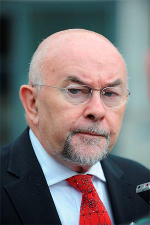 Education Minister Ruairi Quinn has urged parents to take control of Irish schools from the Church. Photo: Damien Eagers