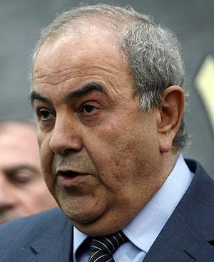 Ayad Allawi. Photo: Getty Images