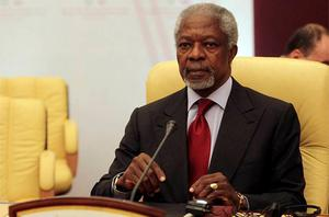 Kofi Annan: will report to the UN on May 5 on Syria
