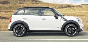 POWER: The Countryman (pictured), Mini's full-sized Crossover competitor, and the Convertible, pack a real punch