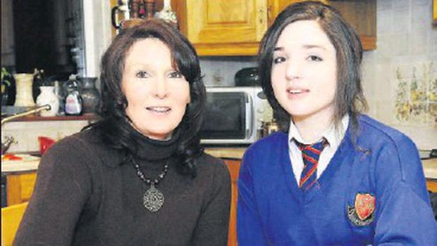 Pauline (left) and Christine Caffrey from Ravensdale, who will next month go on a charity mission to Kenya where they will work with orphaned and abandoned children.