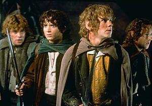 A scene from 'The Lord of the Rings: The Fellowship of the Ring'