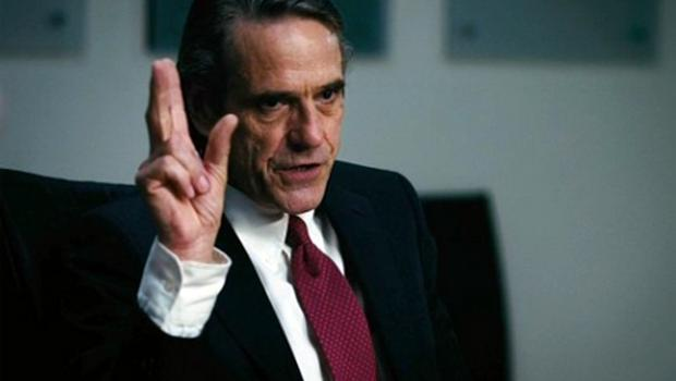 Jeremy Irons plays bank chief executive John Tuld in Margin Call