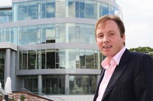 NAMA has placed Ray Grehan's property interests into receivership. He is pictured here at the Grange residential and commercial development, Blackrock, Co Dublin