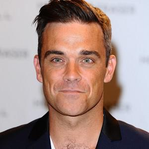 Robbie Williams has asked fans for baby name ideas