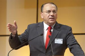 """European Central Bank council member Axel Weber has forecast a """"protracted"""" recovery. Photo: Bloomberg News"""
