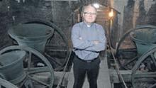 Fr Adrian Egan, pictured in St Mary's Cathedral, Limerick, has backed Fr Tony Flannery