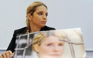 Yulia Tymoshenko's daughter has issued an emotional appeal to the leader of Ukraine to free her jailed mother