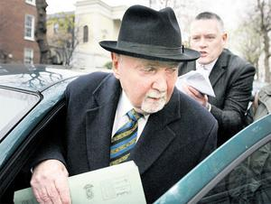 Mr Beggan confronted Mr Fingleton at his car