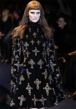 Versace's gothic knights ready to march east