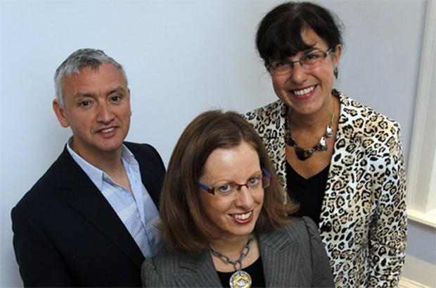 Attending the MCCP event 'Instability is the new normal – is your brand still relevant?' were Martin Raymond (LSN Global), Kay McCarthy (MCCP), Linda Caller (Thought Agents)