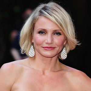 Cameron Diaz shares screen time with a cheetah in The Counsellor