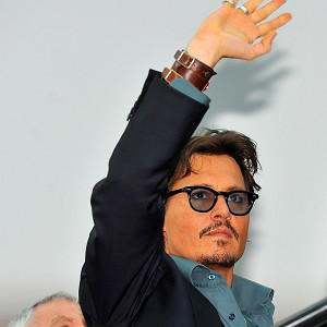 Johnny Depp has proved most popular in a poll to find the ideal viewing companion
