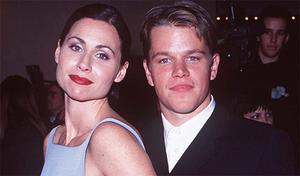 Minnie Driver at a premiere for Good Will Hunting
