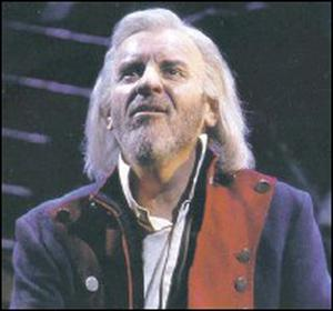 Colm Wilkinson in Les Miserables.