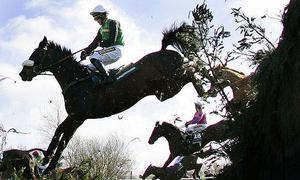 The treacherous Becher's Brook in 2006, where Patrick Mullins and Dooneys Gate came off in 2011. Photo: Reuters