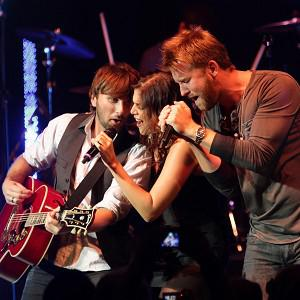 Lady Antebellum hit the road with their Own The Night tour this year