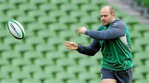 Rory Best will captain Ireland against Scotland