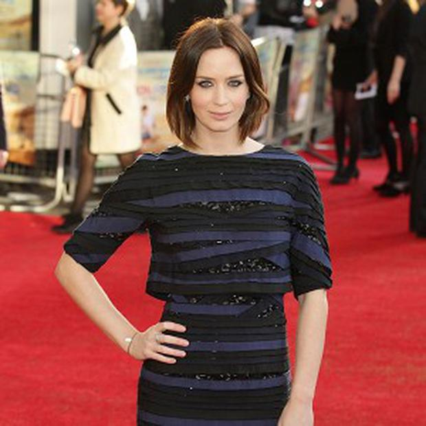 Emily Blunt revealed she likes to have fun when she's making movies