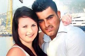 Shannon Graham in Turkey with Recep Cetin who is accused of murdering her mother and her friend