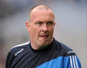 Dublin manager Pat Gilroy is pictured after the Allianz Football League Division 1 final defeat to Cork at Croke Park back in April 2011. Photo: Ray McManus/Sportsfile