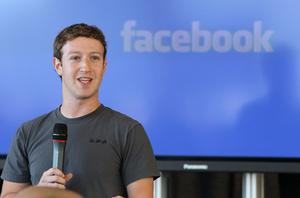 Facebook's founder and chief executive Mark Zuckerberg. Photo: Getty Images