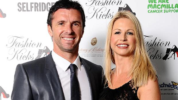 Gary Speed and his wife Louise