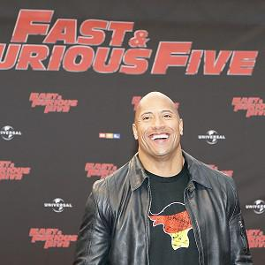 Dwayne Johnson's film Fast Five was top of the US box office
