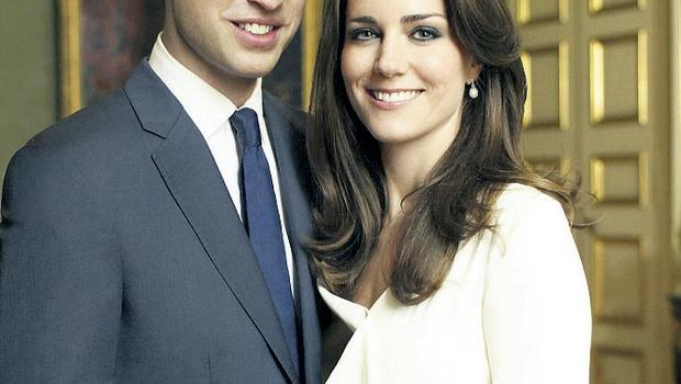 For richer, for poorer: Prince William and Kate Middleton are cutting back on the bling for their wedding.
