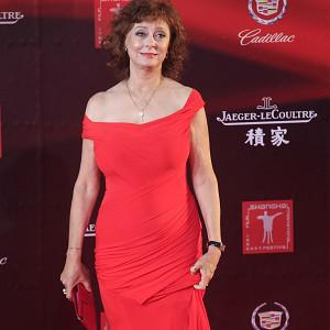 Susan Sarandon attended the opening ceremony of the Shanghai Film Festival