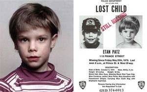 Etan Patz who vanished on May 25, 1979, and has never been found. Photo: Ap