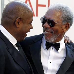 Morgan Freeman was honoured by celebs including Forest Whitaker