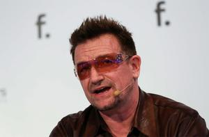 Bono speaks at the F.ounders event in Dublin