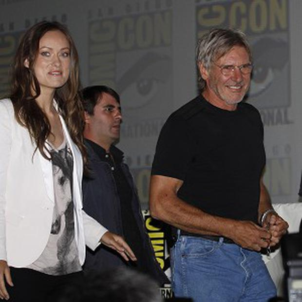 Harrison Ford made a surprise appearance at Comic-Con