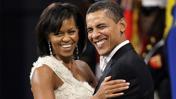 Keeping cool: The pressures on the first couple are explored in a new book on Barack and Michelle Obama