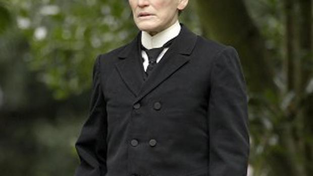 Glenn Close has donned a suit for her latest role