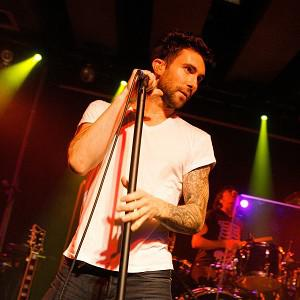 Adam Levine was inspired by Marvin Gaye and Tupac Shakur