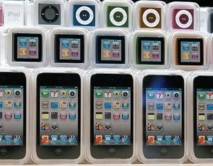 Apple iPods. Photo: Getty Images